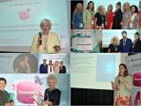 Единственные бизнес-леди - на бизнес-встрече: проект Белинвестбанка и ЕБРР