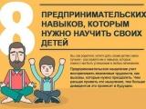 8 ценных предпринимательских навыков, которым нужно научить своих детей